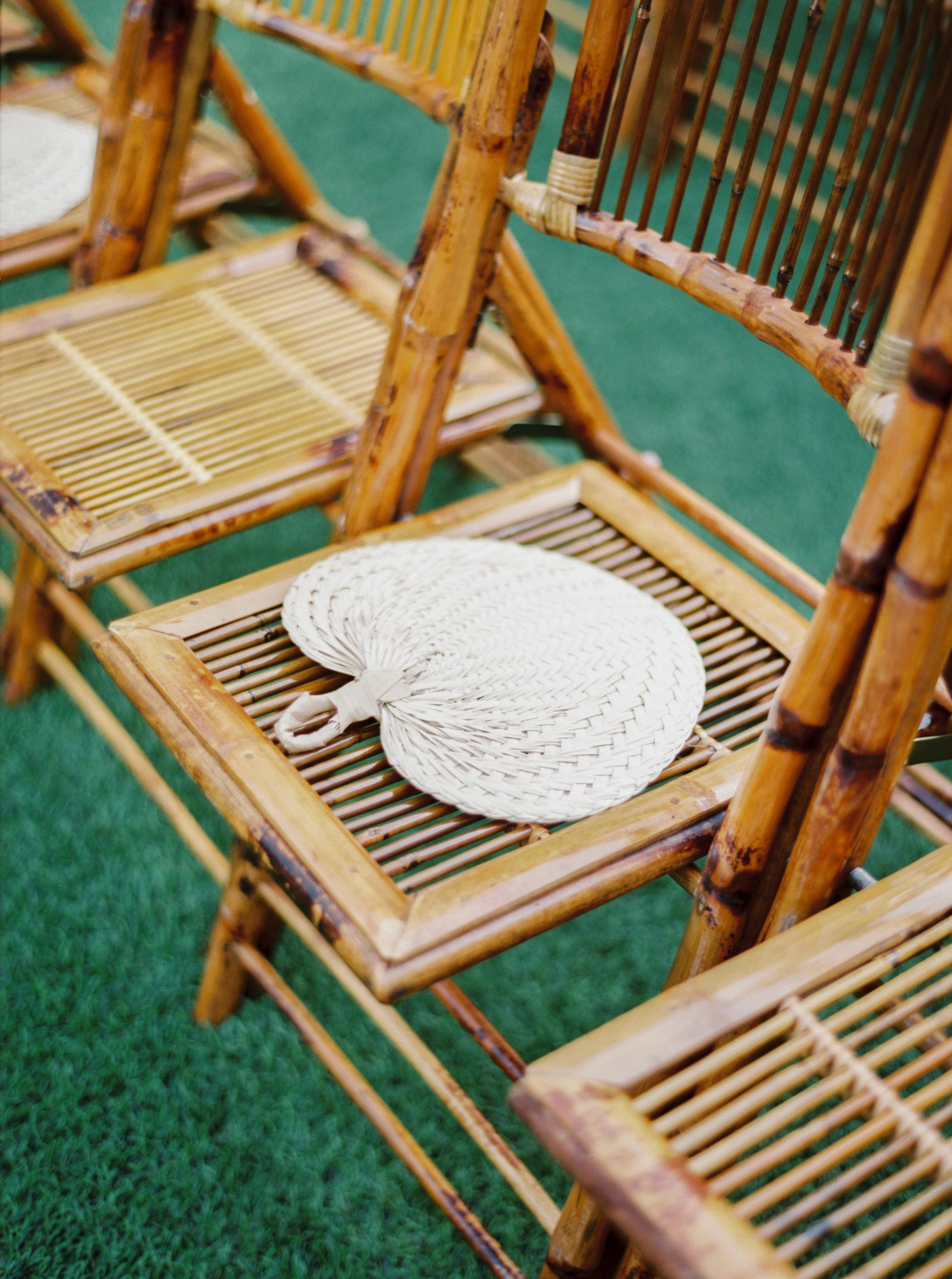bamboo folding chairs orlando wedding and party rentals