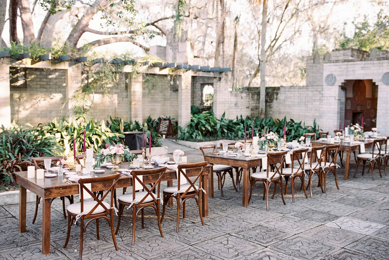 8ft Farm Table Orlando Wedding And Party Rentals