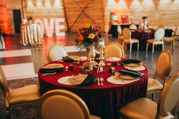 modern, greatest showman, circus, bright, bold, gold, unique, contemporary, king louis chair, wedding, ceremony, reception