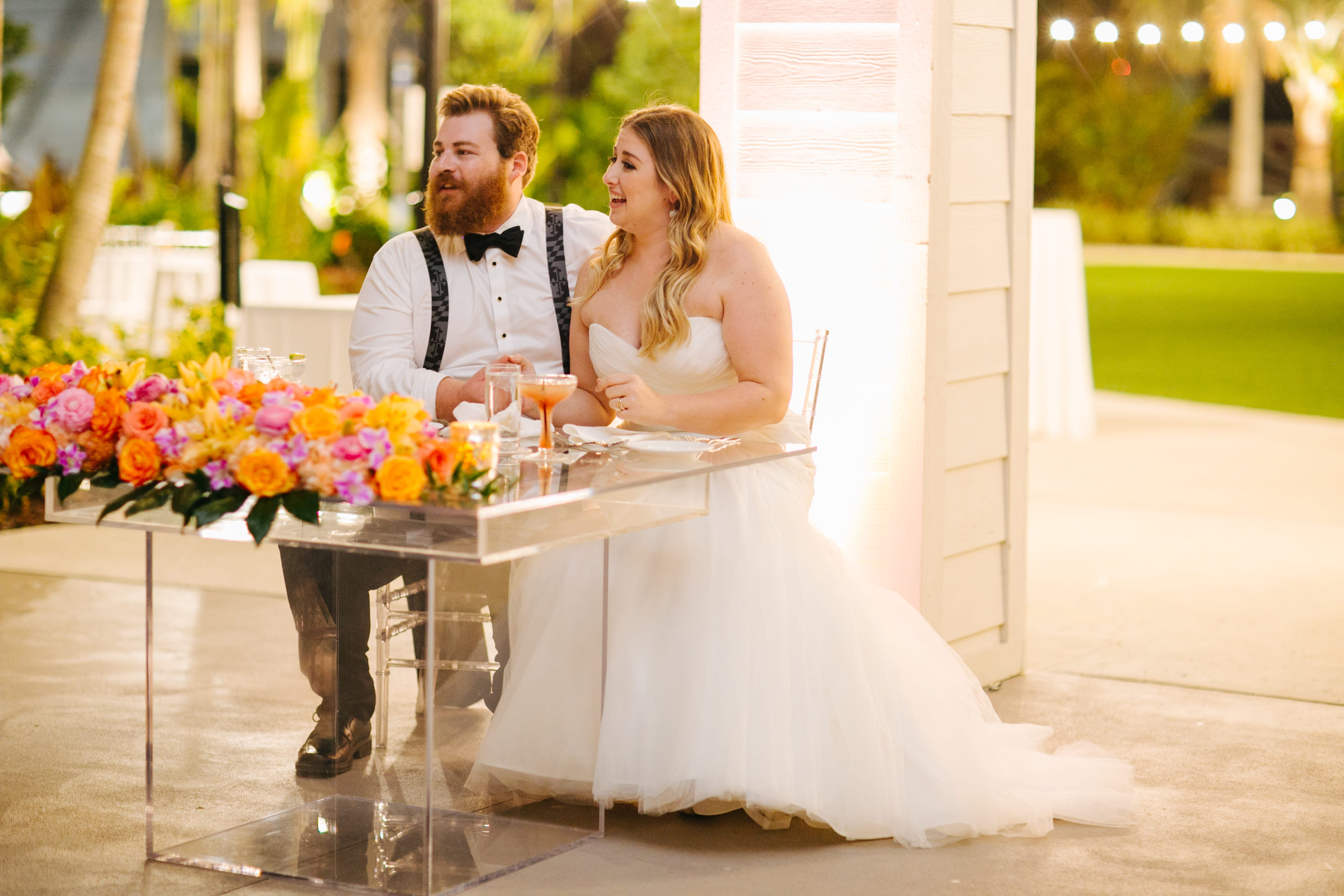 Acrylic Sweetheart Table Orlando Wedding And Party Rentals