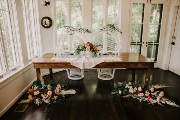 old florida themed wedding at the capen house in winter park florida